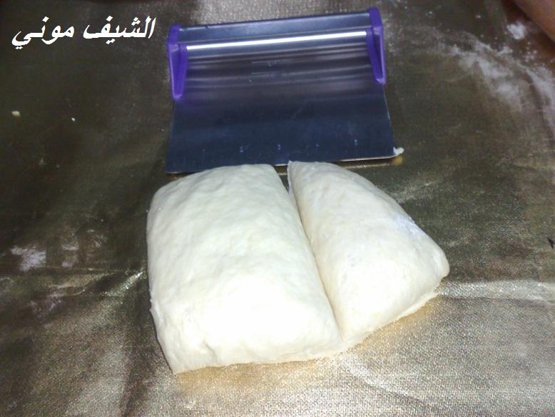المشاركه الجاية البريوش بالشوكولاته والبريوش الساده من مطبخ الشيف موني