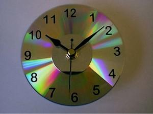 Como hacer un reloj con cd taringa - Hacer un reloj de pared ...