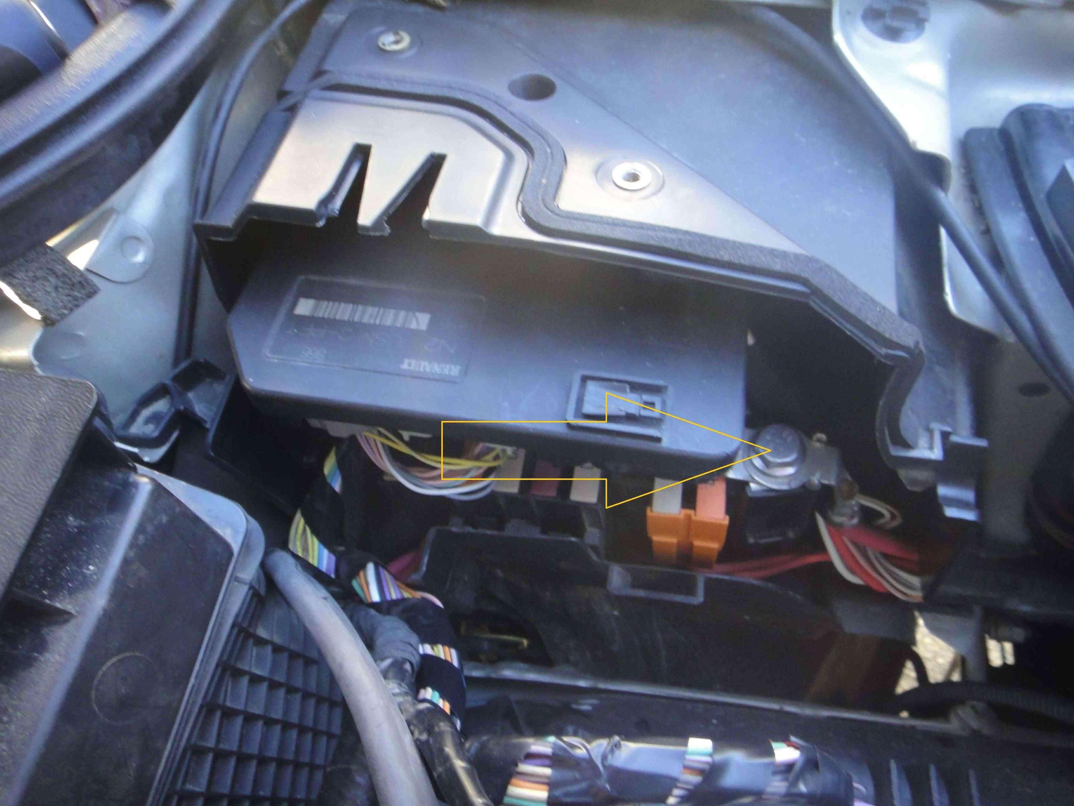 panne recharge batterie espace 4