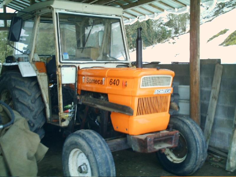 Tracteur someca 640