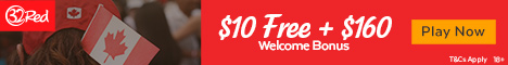 32Red Casino $10 no deposit bonus Canada