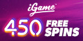 Igame Casino 450 Free Spins på Fire Joker