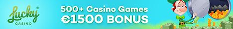 Lucky Casino $/€1500 Bonus + 20 Free Spins no deposit bonus