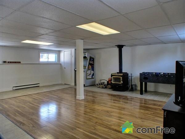 Dirt Floor Basement Gaming Room