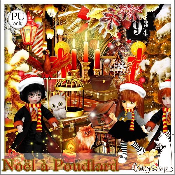 Noël à Poulard de Kittyscrap dans Decembre kittys57