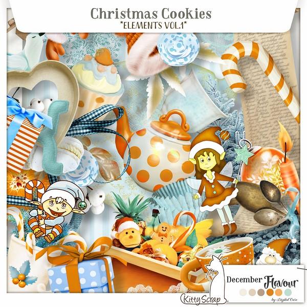 Chhristmas Cookies Vol1 et Vol2 de Kittyscrap dans Decembre previe11