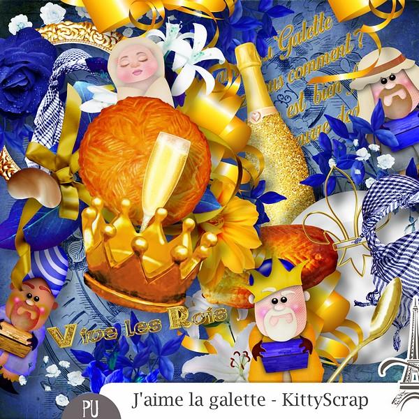 J'aime la galette de Kittyscrap dans Janvier previe34