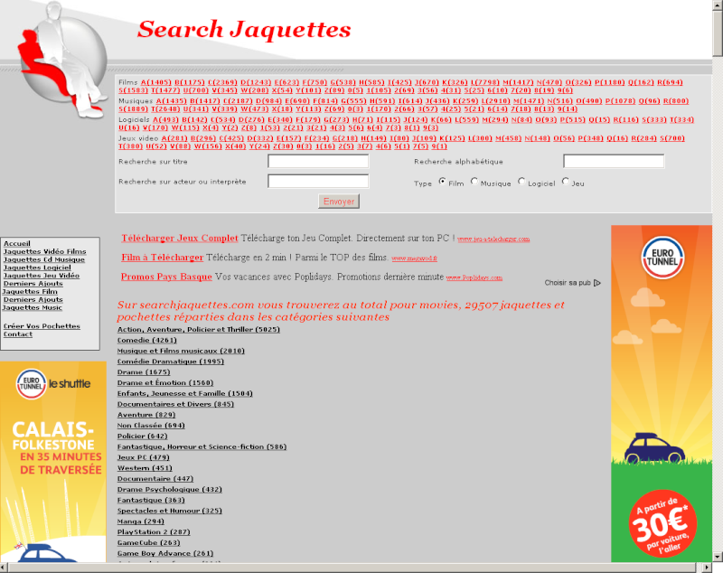 SearchJaquettes.com
