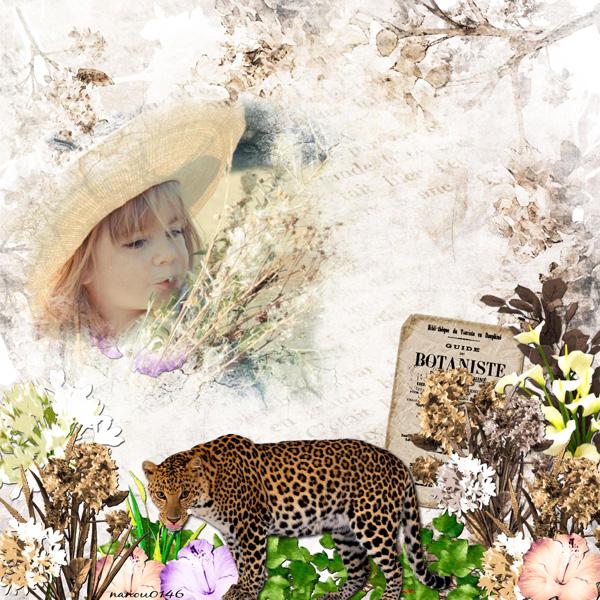 fleurs du mal kit simplette page nanou