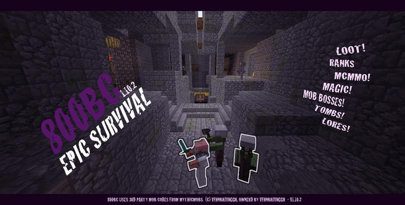 800BC Minecraft Server