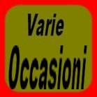 VARIE OCCASIONI