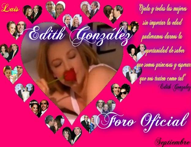 EDITH GONZALEZ FORO OFICIAL