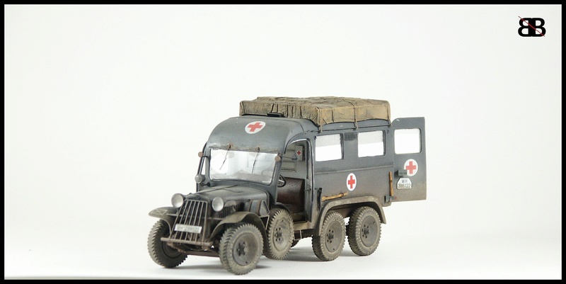 view topic plusmodel 1 35 german ambulance kfz 31. Black Bedroom Furniture Sets. Home Design Ideas