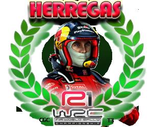 Herregas, campeón de R1 de la Temporada 3 de WRC en CGC