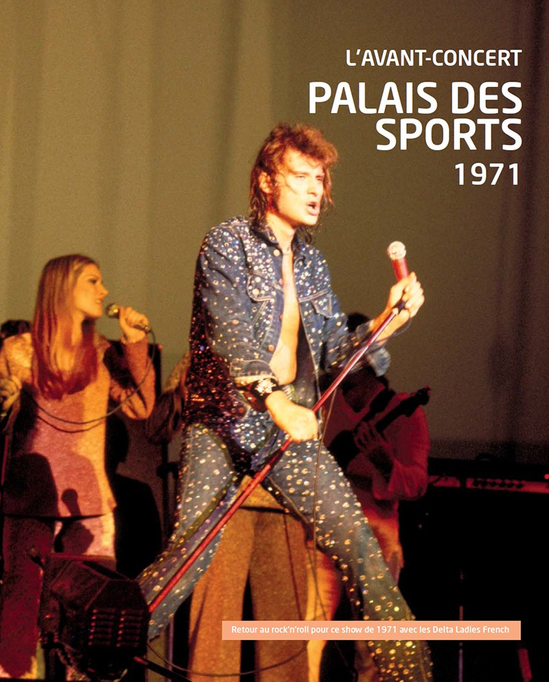 Johnny Hallyday Age >> Volume 64 Palais des Sports 1971