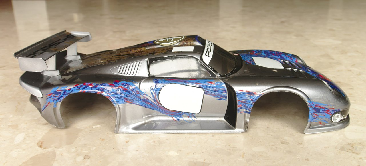 wts used tamiya porsche 911 gt1 body shell r c tech forums. Black Bedroom Furniture Sets. Home Design Ideas