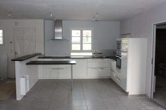 salle de bain sol noir mur gris salon carrelage fonce id es d co pour - Carrelage Gris Mur