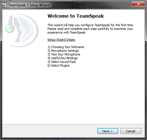 how to connect to teamspeak query