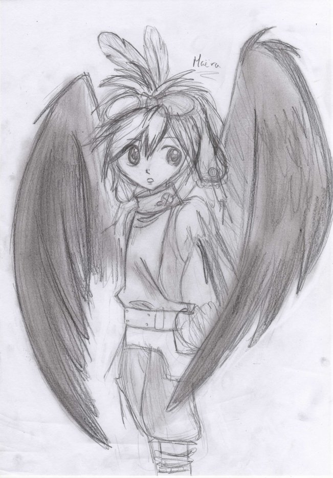 Dessins d 39 anges - Dessin d ange gardien ...