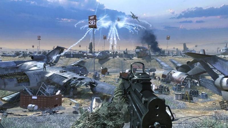 لعبة الاكشن والحروب الرهيبة Call