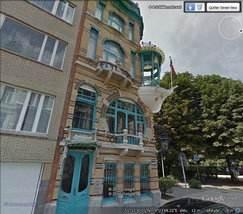 La maison les 5 continents anvers belgique for Portent of passage 5
