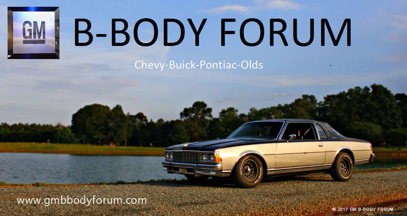 GM B-Body Forum, 77-79 Caprice/Impala Forum