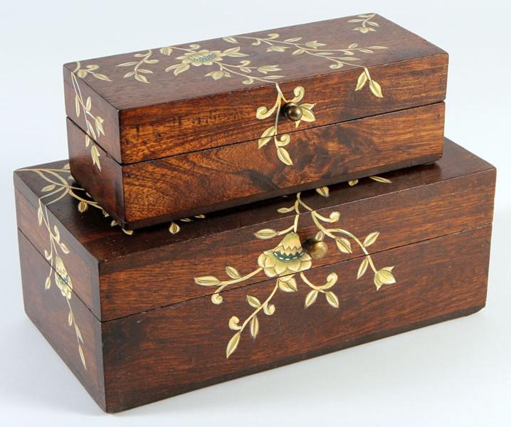 Les boites dans la maison page 10 - Peindre une boite en bois ...