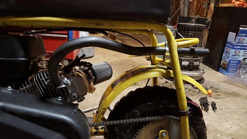 Predator 212 powered DB30 [Archive] - DIY Go Kart Forum