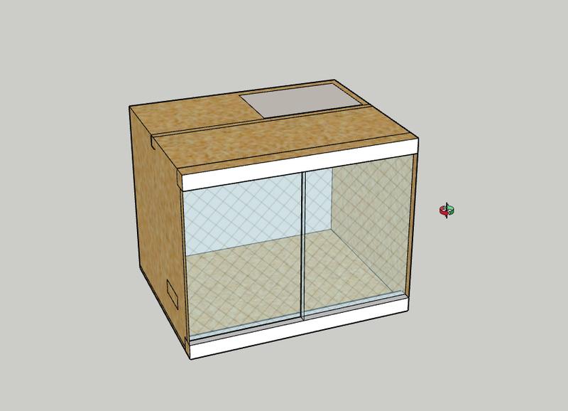 construction d 39 un terrarium pour mon gecko. Black Bedroom Furniture Sets. Home Design Ideas