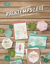 Nouveau catalogue Printemps Eté 2017 stampin'Up!®