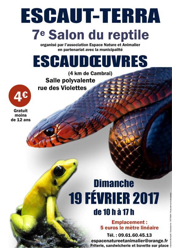7 me salon du reptile escaut terra escaudoeuvres le 19