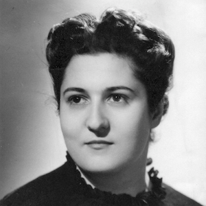 Françoise Dolto jeune étudiante