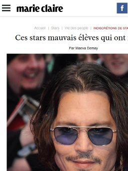 Johnny deep surdoué