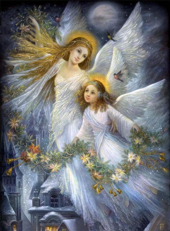 Comme Les Anges Lont Clairement Nonc Dans Le Chapitre Intitul Sommeil Nous Interagissons Beaucoup Avec Royaume Anglique Pendant Nos Rves