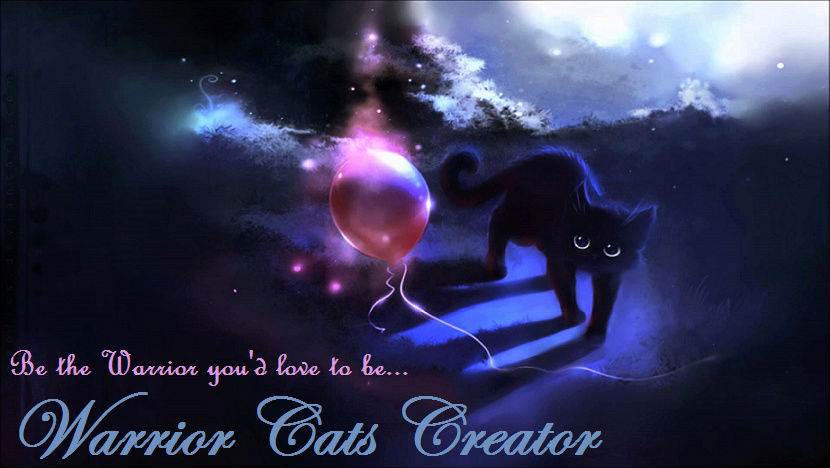 Warrior Cats Creator