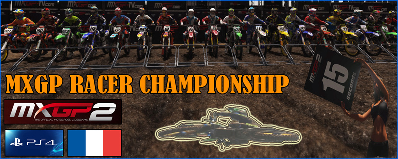MXGP RACER CHAMPIONSHIP