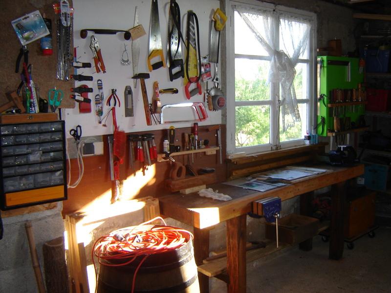 L 39 atelier de moumoune - Restaurer etabli menuisier ...