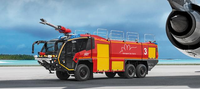 Pompier d'Aéroport,Un Métier,Une Passion