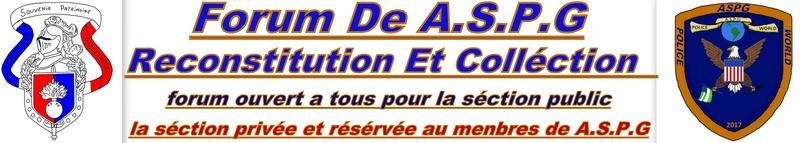 A.S.P.G ASSOCIATION SOUVENIR PATRIMOINE GENDARMERIE