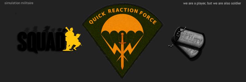 QRF REALITY - simulation militaire sur squad