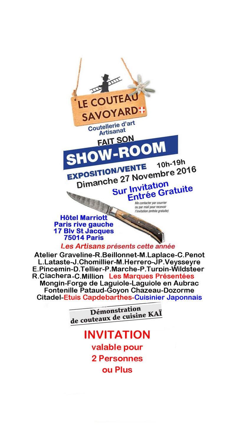 Salon du couteau savoyard dition 2015 page 2 for Salon du couteau paris