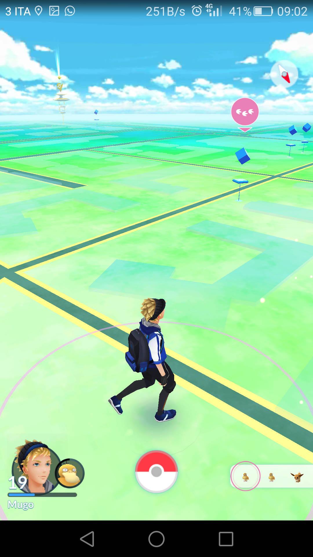 Pokemon Go Avvistamenti 3
