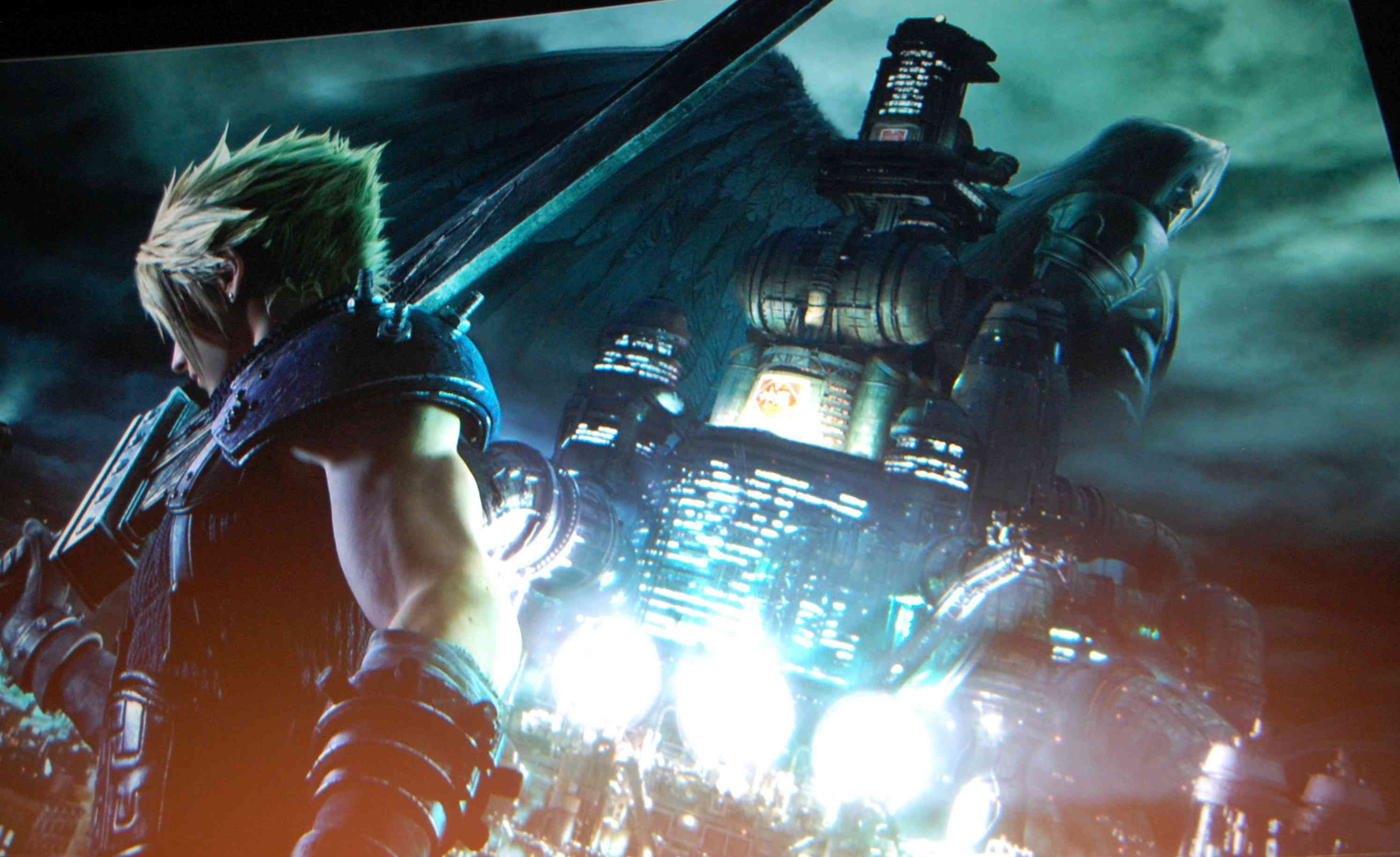 Final Fantasy VII Remake Artwork