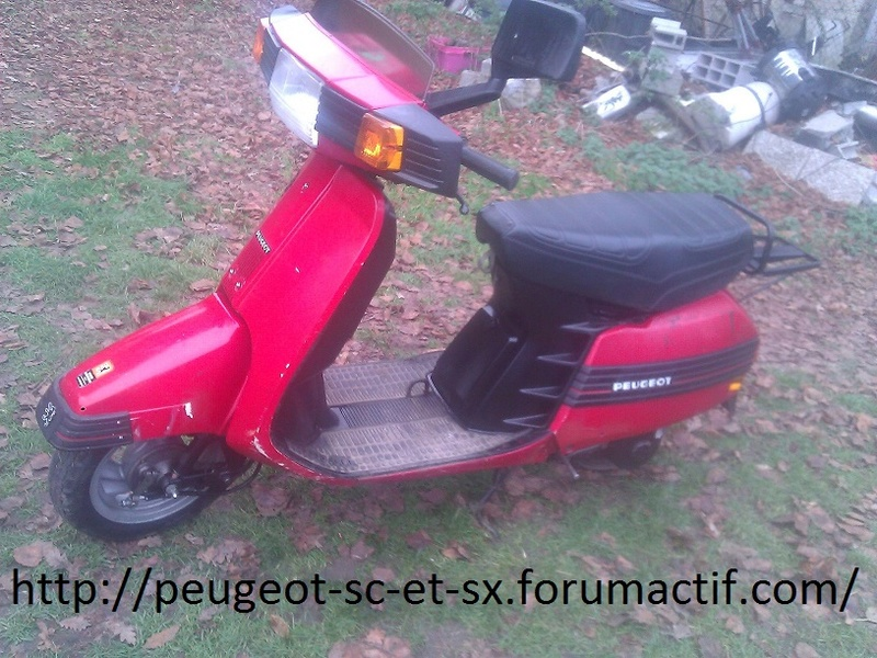 forum scooter peugeot SC50 et SX80