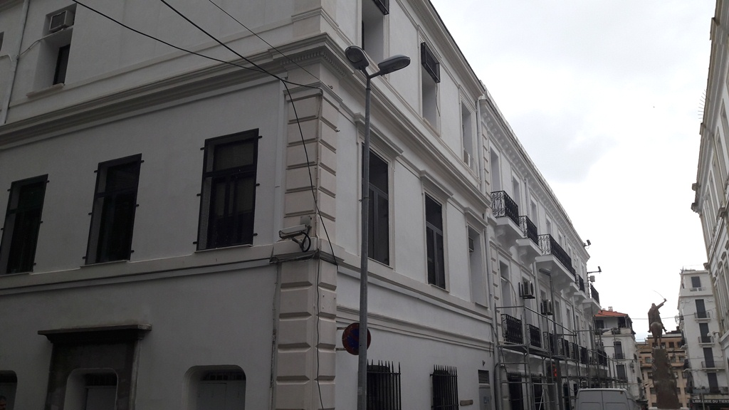 Downtown Rehabilitation In Progress