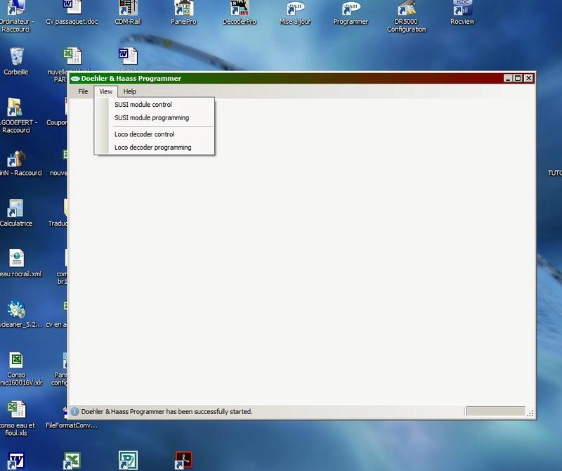Utilisez un programmer doehler haas for Fenetre qui s ouvre