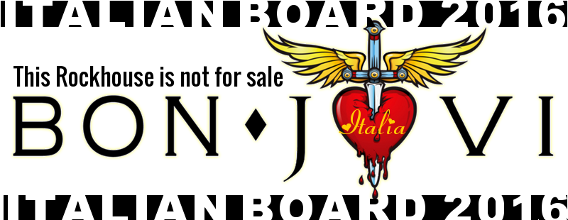 Bon Jovi - This Rock House Is Not For Sale