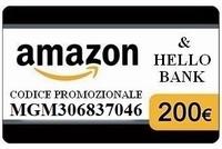HELLO BANK BUONO AMAZON 200