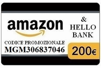 HELLO BANK BUONO AMAZON 200