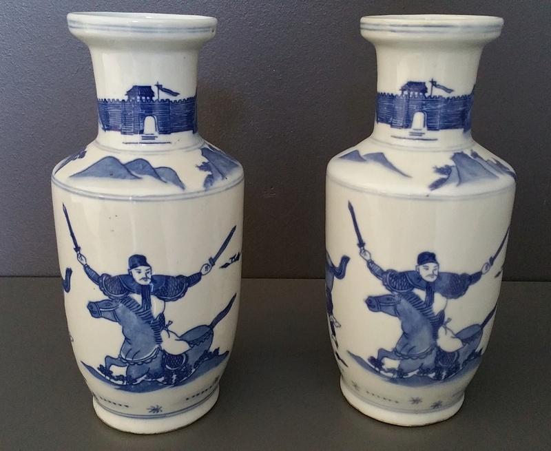 vase chinois moderne signature apocryphe qianlong. Black Bedroom Furniture Sets. Home Design Ideas